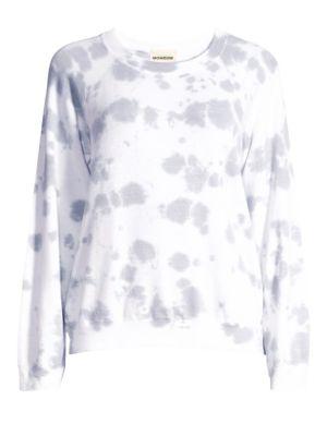 Vintage Raglan Cloud Tie-Dye Sweatshirt