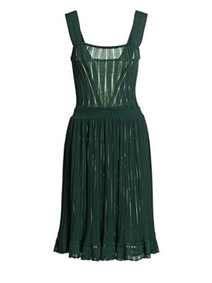 Falbalas Pleated A-Line Dress