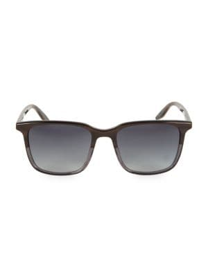 Heptone 54MM Rectangular Sunglasses