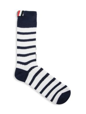 Chunky Rib Stripe Socks