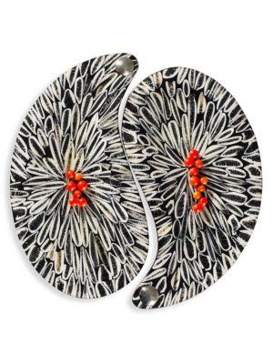 Almendro Set of Two Yin-Yang Trays