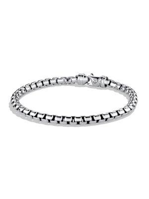 Large Box Chain Bracelet