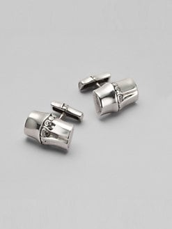 John Hardy - Nusa Penida Silver Cuff Links