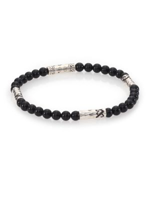 Mult-Station Black Onyx Bracelet