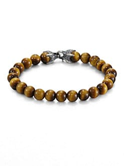 David Yurman - Spiritual Bead Tiger's Eye Bracelet