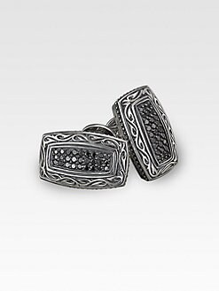 Scott Kay - Black Sapphire Cuff Links