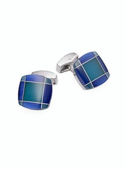 Tateossian - Tartan Fusion Cuff Links