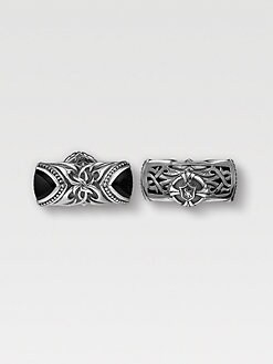 Scott Kay - Sparta Cuff Links with Onyx