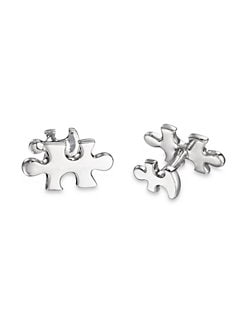 Robin Rotenier - Puzzle Piece Cuff Links