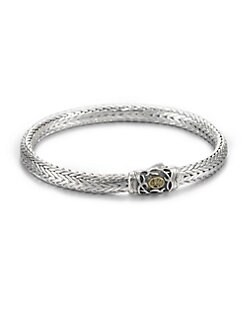 Scott Kay - Sterling Silver Kodiak Oval Bracelet