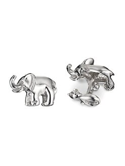 Robin Rotenier - Elephant and Mouse Cuff Links