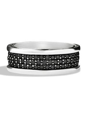 Pavé Silver Ring