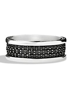David Yurman - Pavé Silver Ring