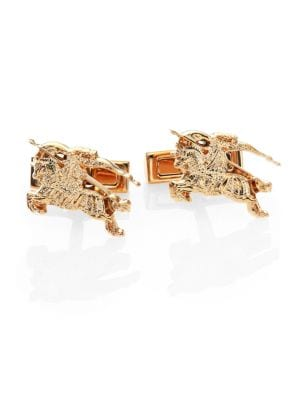 Gold-Plated Cuff Links