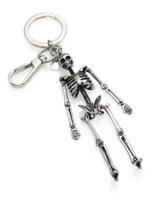 Skull Key Ring by Alexander Mc Queen