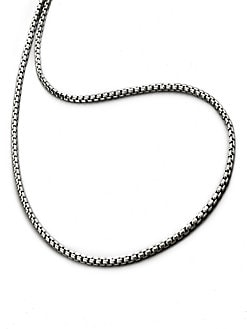 David Yurman - Medium Box Chain Necklace