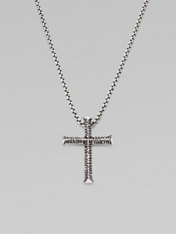 Stephen Webster - Silver Cross Pendant