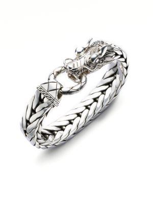 Dragon Chain Silver Bracelet