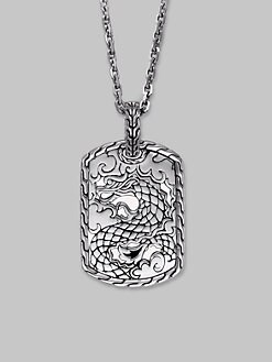 John Hardy - Grill Pendant Necklace