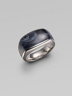 David Yurman - Three-Side Ring/Pietersite