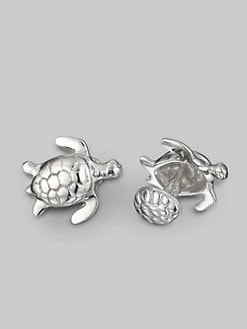 Robin Rotenier - Turtle Cuff Links