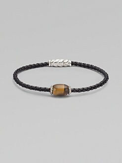 David Yurman - Tiger's Eye Bead Bracelet