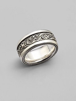 David Yurman - Waves Band Ring