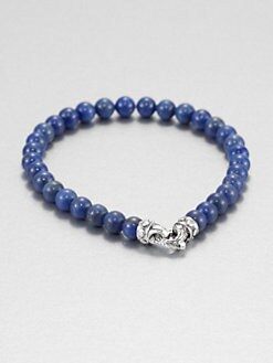 Scott Kay - Blue Lapis Beaded Bracelet