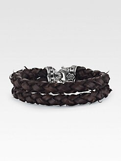 Scott Kay - Leather Bracelet