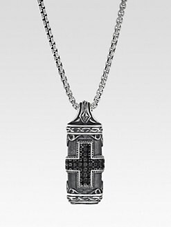 Scott Kay - Silver Tablet Necklace
