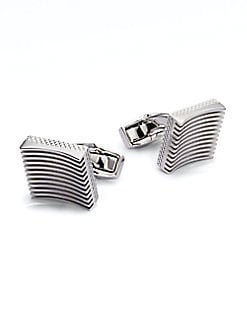 Tateossian - Zen Garden Cuff Links/Square