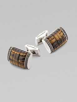 John Hardy - Bedeg Silver Dome Cuff Links
