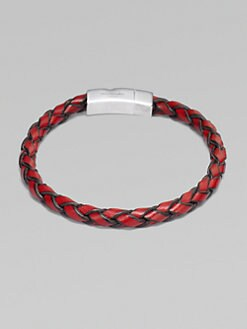 Tateossian - Hand-Braided Leather Bracelet