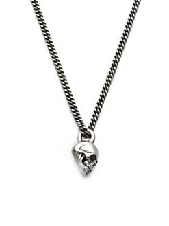 King Baby Studio - Sterling Silver Skull Necklace