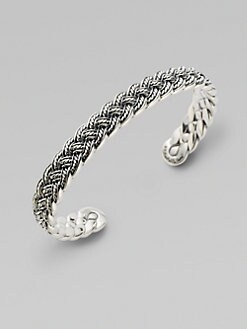 David Yurman - Sterling Silver Bangle