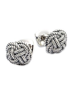 David Yurman - Braided Knot Cuff Links