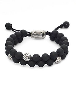 David Yurman - 3 Monkey Fist Beads