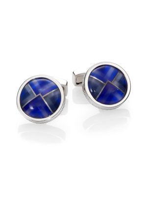 Rund Kaleidoscope Cuff Links