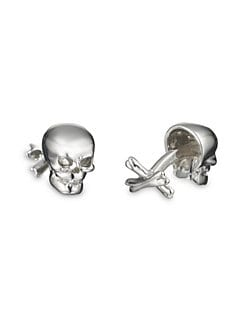 Robin Rotenier - Skull & Crossbone Cuff Links