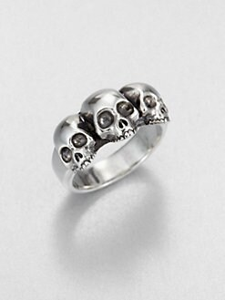 King Baby Studio - Triple Skull Ring
