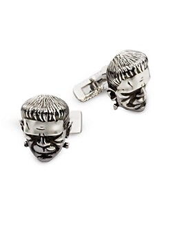 Stephen Webster - Silver Frankenstein Cuff Links