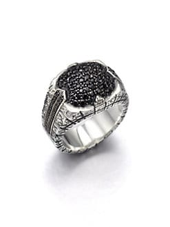 Stephen Webster - Sterling Silver & Sapphire Ring
