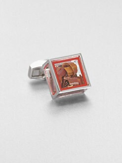 Tateossian - Pandora's Box Chili Flake Cuff Link