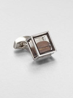 Tateossian - Pandora's Box Coffee Bean Cuff Link