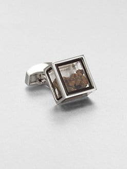 Tateossian - Pandora's Box Dinosaur Bone Cuff Link