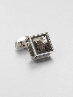 Tateossian - Pandora's Box Meterorite Cuff Link