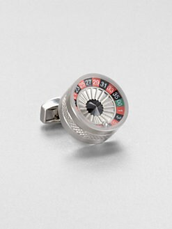 Tateossian - Gambling Mechanical  Roulette Cuff Link