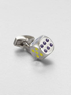 Tateossian - Real Dice Cuff Link