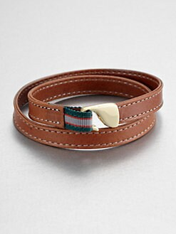 Miansai - McLain Leather Wrap Bracelet