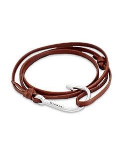 Miansai - Hook Leather Wrap Bracelet